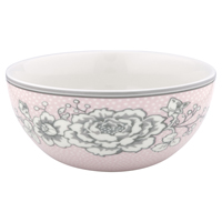 Cereal bowl Ella, Pale pink