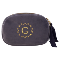 Cosmetic bag, Pale grey