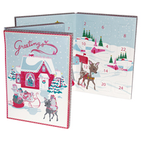 Choklad kalender Bambi, Pale blue