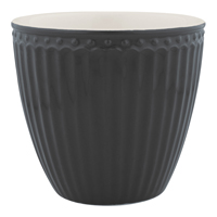 Lattemugg Alice, Dark grey