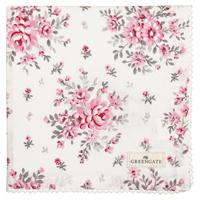 Servett Flora, White