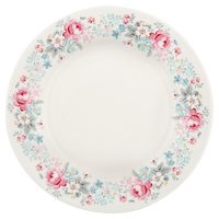 Assiette Marie, Pale grey