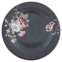 Assiette Maude, Dark grey