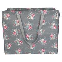 Storage bag Marie, Grey large
