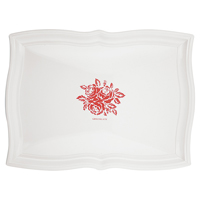 Tray Fleur, Red