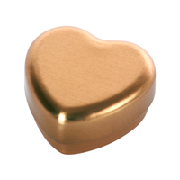 Small heart box, Guld