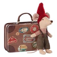 Tomtemus i resväska