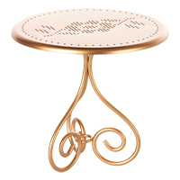 Coffee table, Gold vintage
