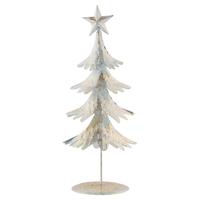 Tree gold w/shimmer standing, Medium