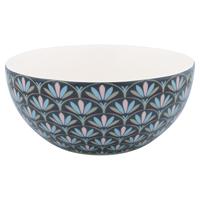 Cereal bowl Victoria, Dark grey