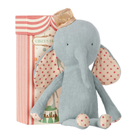Circus Friends Elephant with hat, Blue
