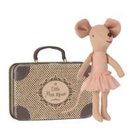 Ballerina Storasyster mus i resväska