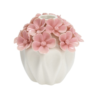 Vase Flower, Pale pink small