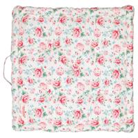 Box cushion Meryl, White