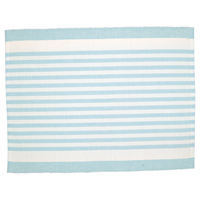 Tablett Alice Stripe, Pale blue