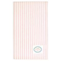 Kökshandduk Alice Stripe, Pale pink