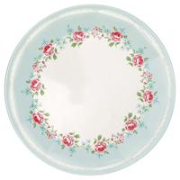 Plate Meryl, Pale blue