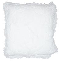 Kuddfodral Flower, White w/frill