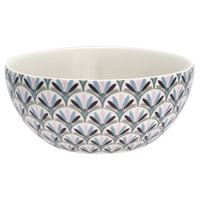 Cereal bowl Victoria, White