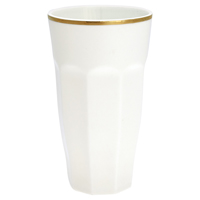 French latte, Off white w/gold