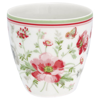 Mini lattemugg Meadow, White