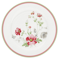 Assiette Meadow, White