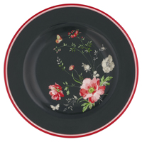 Liten assiette Meadow, Black