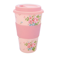 Travel mug Marley, Pale pink
