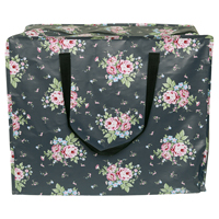 Storage bag Marley, Dark grey large