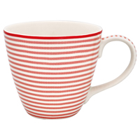Mugg Thea, Red