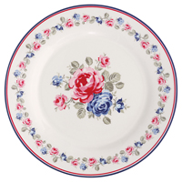 Assiette Hailey, White