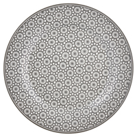 Assiette Kelly, Warm grey
