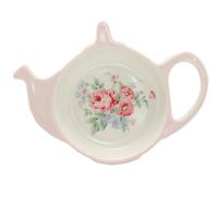 Teabag holder Marley, Pale pink