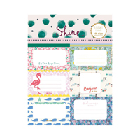 School labels - set of 3 sheets