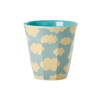 Melamine kids cup with Cloud print, Small