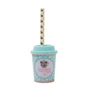 Pencil sharpener with cute little pencil, Blue