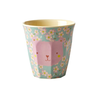 Melamine kids cup with Animal print, Small