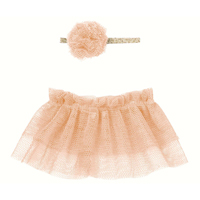 Tutu & hairband Rose, Mini