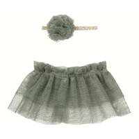 Tutu & hairband Petrol, Mini