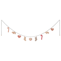 Christmas garland, Large