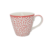 Mugg Dot, White