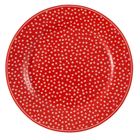 Assiett Dot, Red