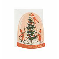 Kort med kuvert, Merry Elves