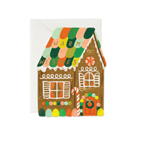 Kort med kuvert, Gingerbread House