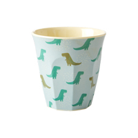Melamine kids cup with Dino print, Small