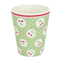 Cup Cherry berry, Pale green