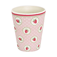 Cup Strawberry, Pale pink
