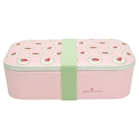Lunch box Strawberry, Pale pink