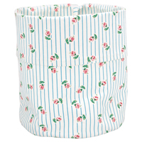 Storage bag Lily, Petit white medium