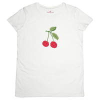 T-shirt Cherry mega, White